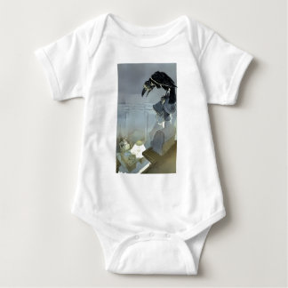Watched by the Raven Baby Bodysuit