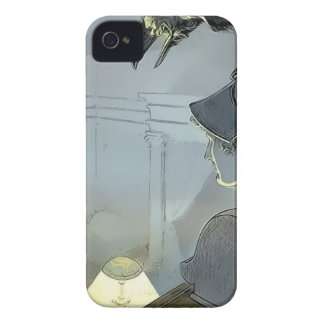 Watched by the Raven iPhone 4 Cover