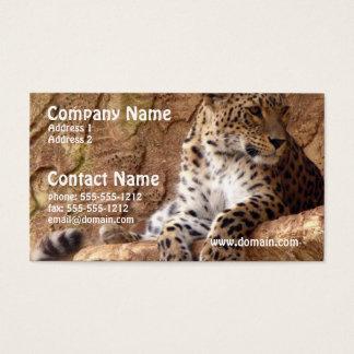 Watchful Leopard Business Card