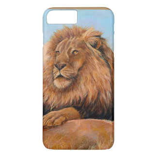 Watchful lion iPhone 7 plus case