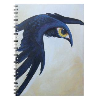 Watchful Raven Notebooks