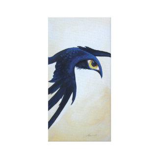 Watchful Raven Print