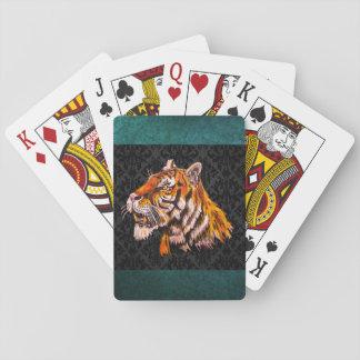 Watchful Tiger Poker Deck