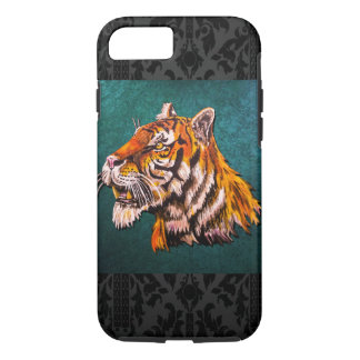 Watchful Tiger Teal iPhone 8/7 Case