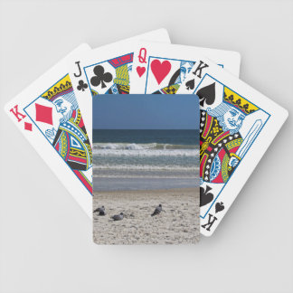 Watchin' the Tide Roll Away Bicycle Playing Cards