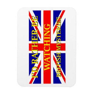 Watching British Mysteries Magnet