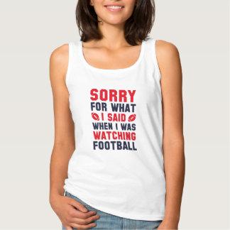 Watching Football Singlet
