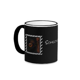 Watching  ringer mug