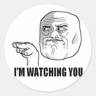 Watching Sticker