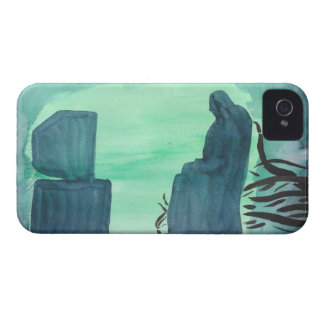 Watching Television iPhone 4 Case-Mate Case
