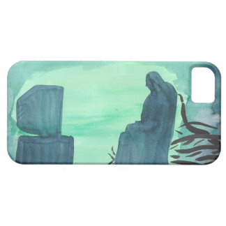 Watching Television iPhone 5 Case