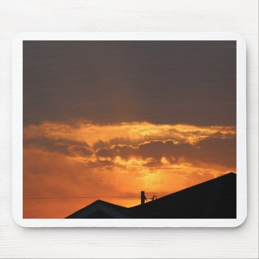 Watching the Sunrise Mouse Pads