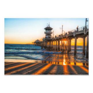 Watching The Sunset Photo Print