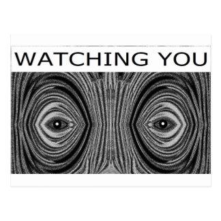 WATCHING YOU POSTCARD