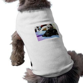 Watching You Sleeveless Dog Shirt