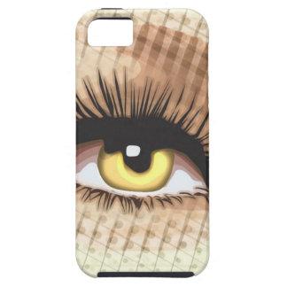 Watching you - Wide eye open iPhone 5 Case
