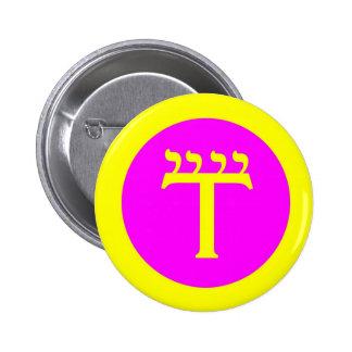 watchtowerairpin 6 cm round badge