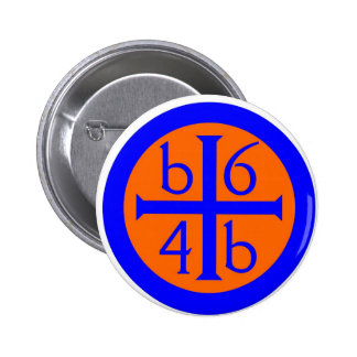 watchtowerwaterpin 6 cm round badge