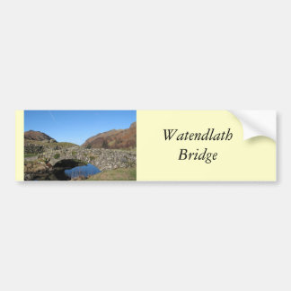 Watendlath Bridge Bumper Sticker