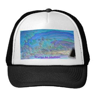 water 3 4 24 09, Water In Motion Mesh Hat