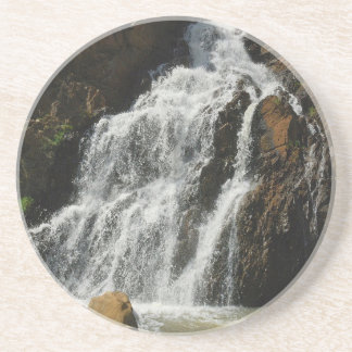 Water A Nice River Falls Beverage Coaster