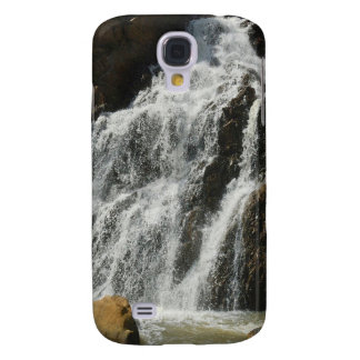 Water A Nice River Falls Galaxy S4 Covers