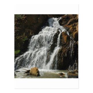 Water A Nice River Falls Postcard