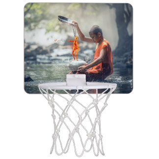 Water and Fire Mini Basketball Hoop