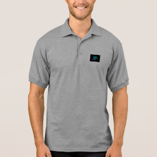 Water and Forest Polo T-shirt