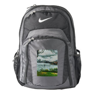 Water and scenery backpack