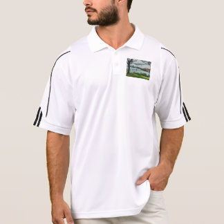 Water and scenery polo t-shirts