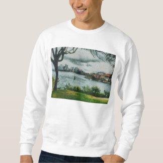 Water and scenery sweatshirt