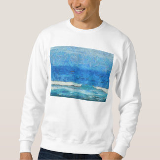Water and sky sweatshirt