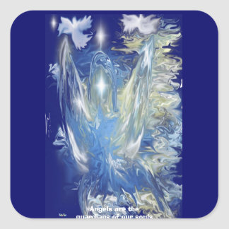 Water Angel Products Square Sticker