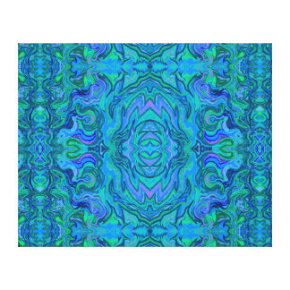 Water Art Pattern Canvas Print