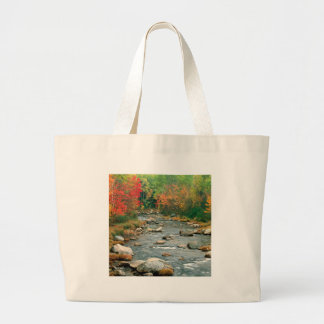 Water Autumn Colors Hampshire Canvas Bags