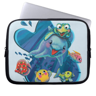 Water Babies Laptop Sleeve