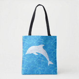 Water Baby Dolphin Tote