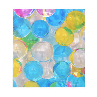 water balls notepad