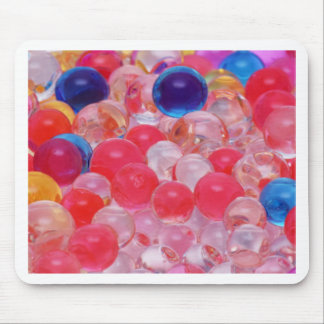 water balls texture mouse pad