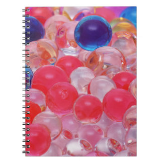 water balls texture notebooks