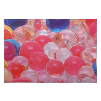 water balls texture placemat