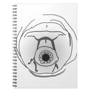 Water Bear Tardigrade Face Notebooks