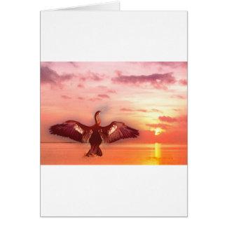 Water Bird Card