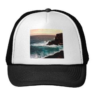 Water Black Rock Coast.jpg Hat