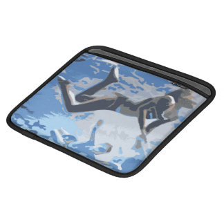 Water blue swimming diving underwater sleeve for iPads