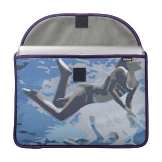 Water blue swimming diving underwater sleeves for MacBook pro