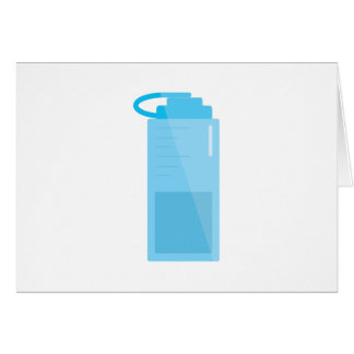 Water Bottle Cards