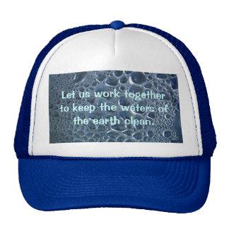 Water Bottle Condensation Mesh Hat