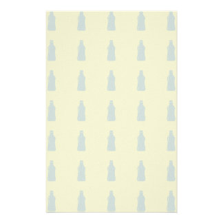 Water Bottle Hydrate Workout Graphic Stationery
